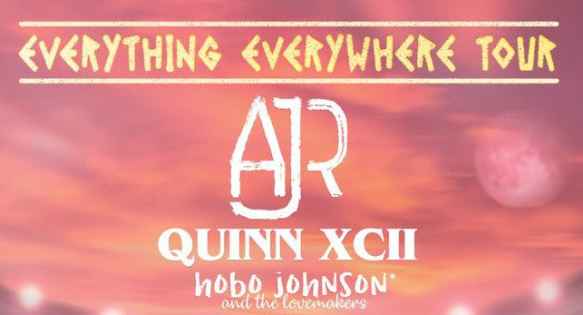 AJR, Quinn XCII & Hobo Johnson and The Lovemakers at Cadence Bank Amphitheatre