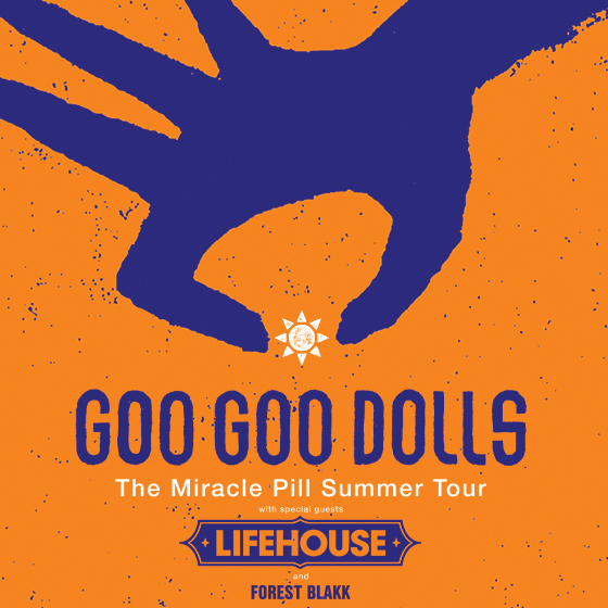 Goo Goo Dolls & Lifehouse at Cadence Bank Amphitheatre