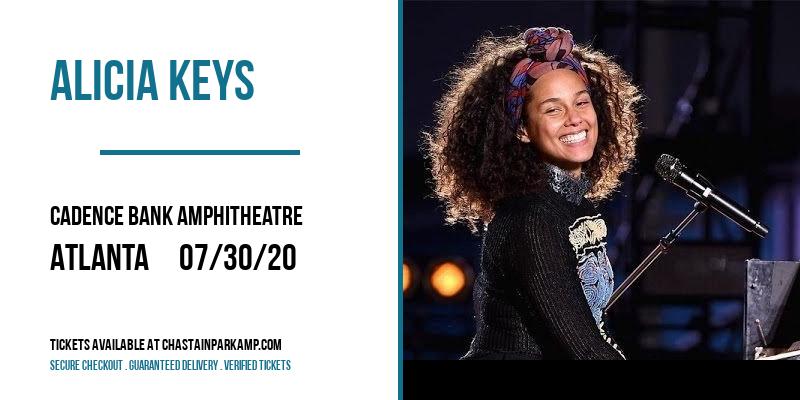 Alicia Keys at Cadence Bank Amphitheatre