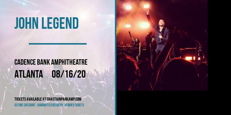 John Legend at Cadence Bank Amphitheatre