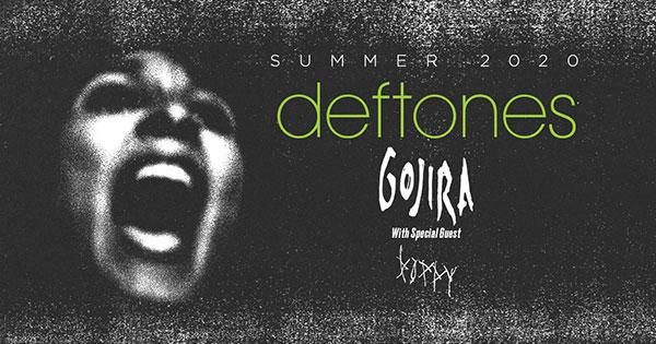 Deftones, Gojira & Poppy at Cadence Bank Amphitheatre