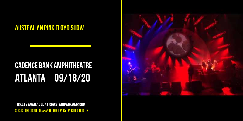 Australian Pink Floyd Show [CANCELLED] at Cadence Bank Amphitheatre