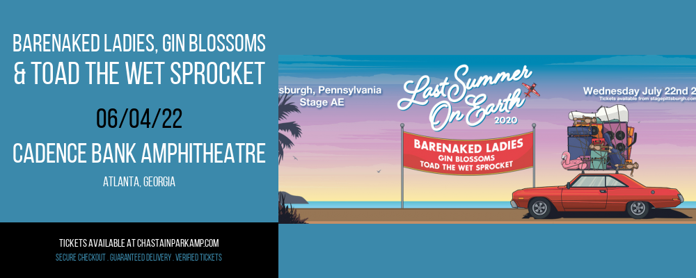 Barenaked Ladies, Gin Blossoms & Toad The Wet Sprocket at Cadence Bank Amphitheatre