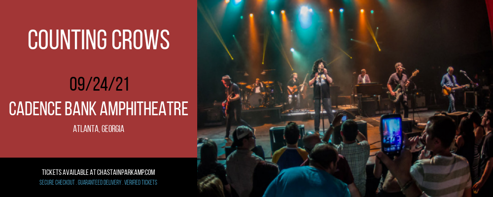 Counting Crows at Cadence Bank Amphitheatre