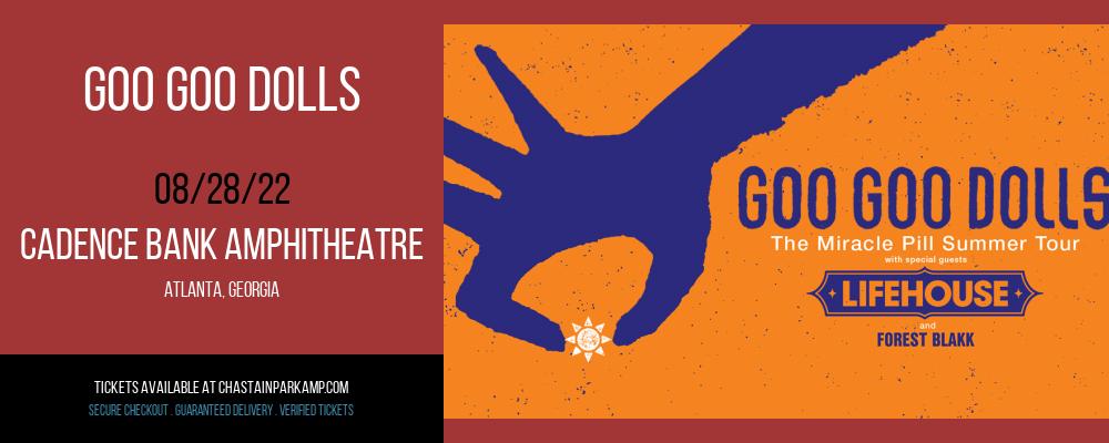 Goo Goo Dolls & Lifehouse at Cadence Bank Amphitheatre